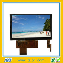 Capacitive touch screen 5 inch TFT LCD 800x480 resolution