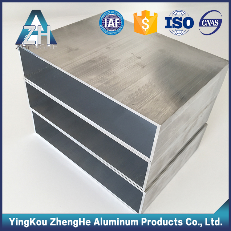 zhenghe product hollow rectangular tube aluminum profile extrusions