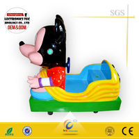 2016 latest mini mouse kiddie ride/coin operated swing car for kids
