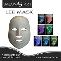 China supplier led light therapy face mask different 7 colors LED MASK
