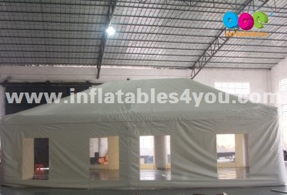 Air tight Tent with tubes and cover for events