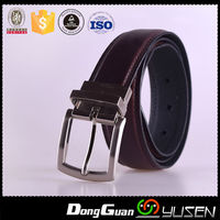 Formal Lady Leather Belts Argentina With Reversible Bucklle