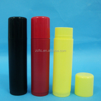 15g empty PP lip balm tubes / containers, plastic twist up glue stick tubes