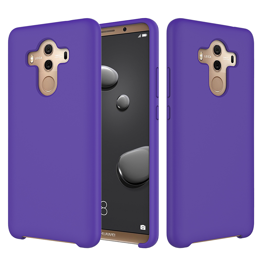 Factory Price Silicone phone case for Huawei mate 10 pro, smooth and luxury case