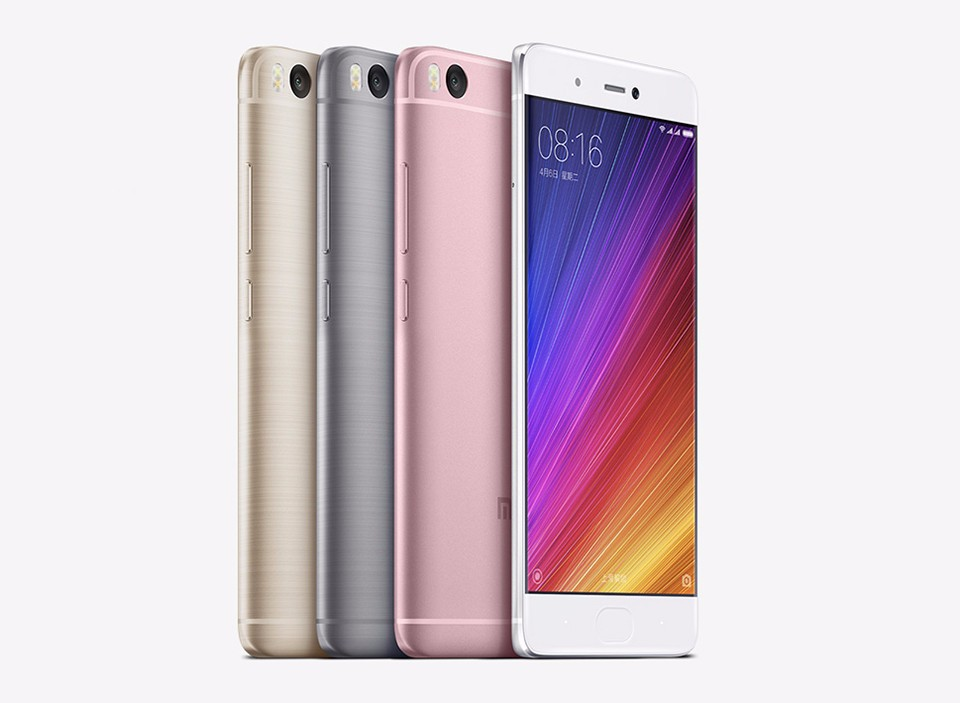 "Original Xiaomi Mi 5S Mi5s Mobile Phone 3GB RAM 64GB ROM Snapdragon 821 Quad Core 5.15""Inch 1920x1080 Ultrasonic Fingerprint"