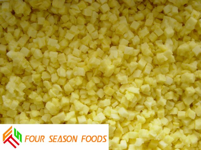 new crop IQF frozen pineapple dices/ slices/tidbits 2015