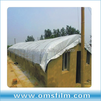 200micro greenhouse film for mushroom anti-UV, anti-drip, 95% anti sunlight