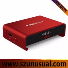 T95U Pro Amlogic S912 2G/16G android 6.0 tv box Google play store app free download amlogic S912 Smart TV Box