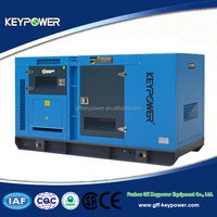Keypower 125KVA Price of Electricity Generating Key Start Generator System