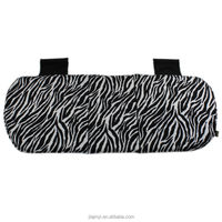 Rear Car seat cushion glay zebra animal pattern polyester fabric Filling polyester Japan quality