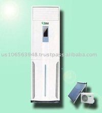 Solar Assisted Air Conditioner - Floor Standing Type