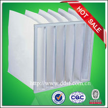 Coarse dust collector bag ventilation filter, dust bag filter