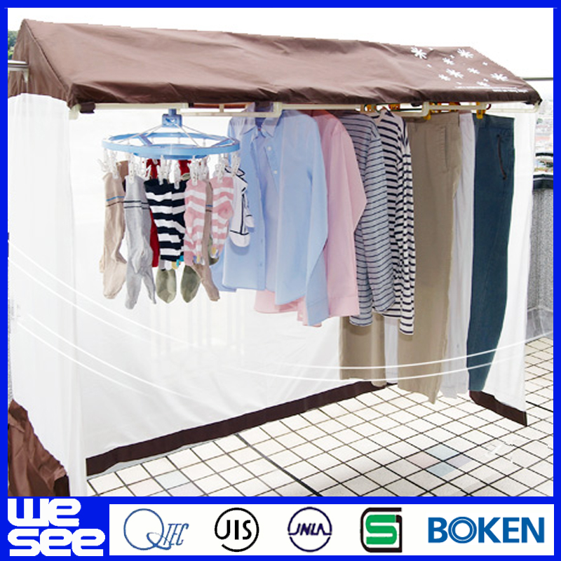 plastic indoor heated balcony clothes airer