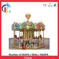 2016 Hot sale antique high quality carousel amusement rides carousel horse for sale