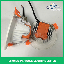 Factory price full form of led integrated led downlights