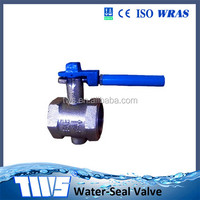 DN150 PN16 Cast Iron Handle Leve Screw End Wafer Butterfly Valves