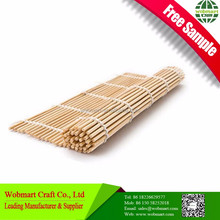 Factory Supply Competitive Price Free Sample Bamboo Sushi Roller Mat