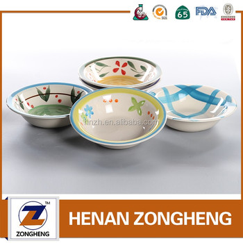 stocked stoneware hand painted ceramic bowl wholesale