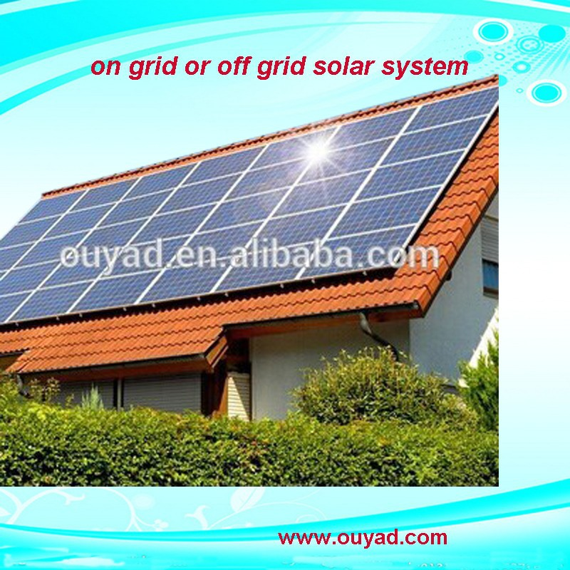 Photovoltaik product off grid 3kw home use solar power system