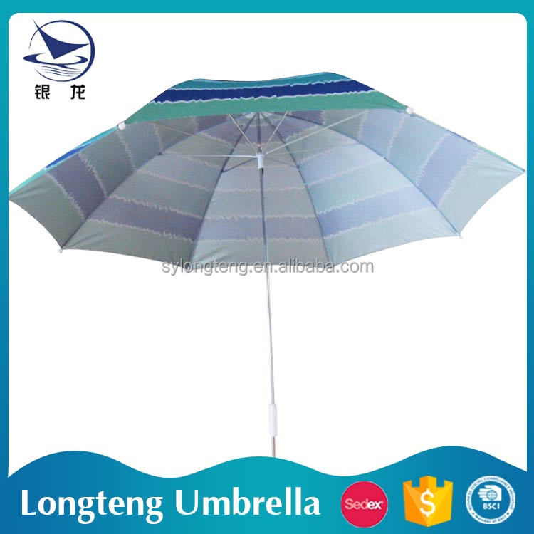 Hot sale Sun and rain Sun protection Aluminum Straight air umbrella for sale