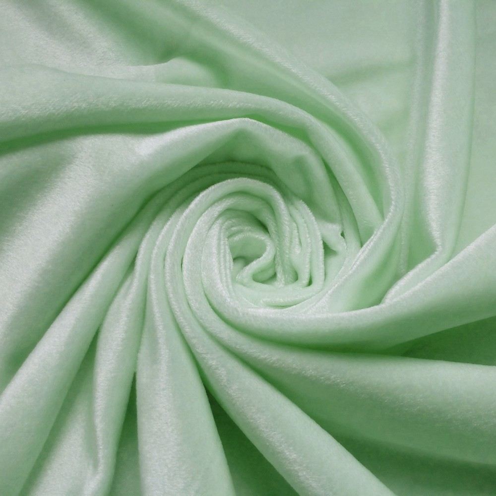 Light Fruit green fabric for home textile upholstery