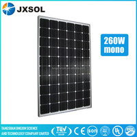 High Effieincy Cheap Price 260W Monocrystalline Solar Panel/Panel Solar From China Manufacturer