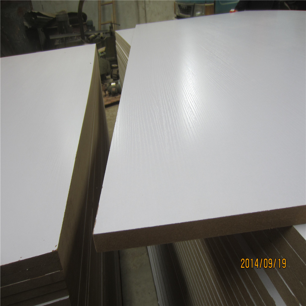 Trade Assurance white sublimation face slotted mdf board From Linyi Factory(LINYI)