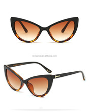 women sunglasses 2018 custom cat eye sunglasses(SWTAA3562)