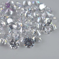 Best Selling White Cubic Zirconia Simulated