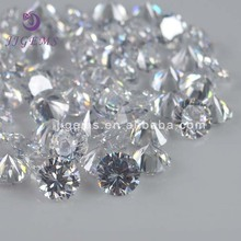 Best selling white cubic zirconia simulated synthetic diamond