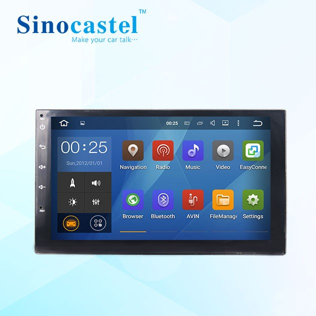 Hot Selling Android 5.1 Car Multimedia <strong>Player</strong> For 2 Din Universal Dvd With 3G Radio Gps