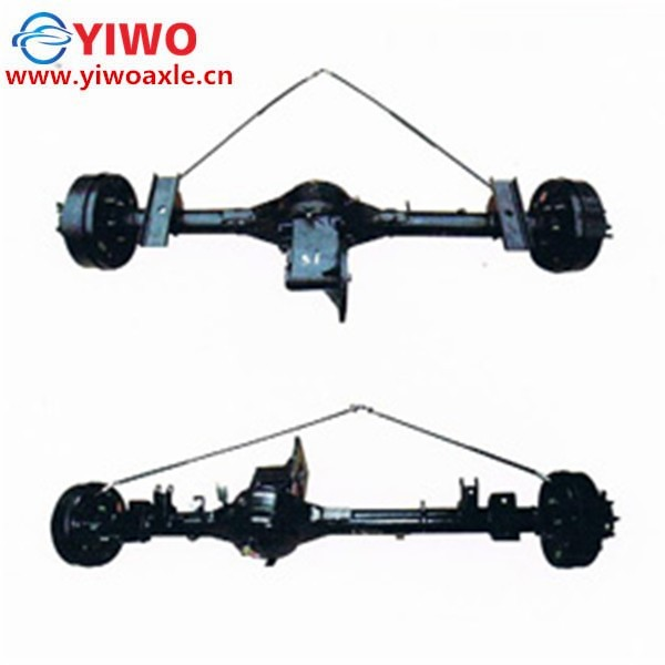 go cart drivetrain axle electric axle with one speed gearbox with diagram