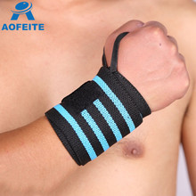 High elastic Powerlifting breathable soft weight lifting wrist wraps for adults