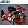 Motorcycle Injection Plastic Fairing Kit For Suzuki GSXR 1000 2000-2002 Red