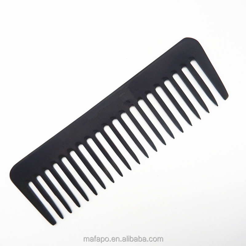 Professional wode tooth bone comb for wig or salon