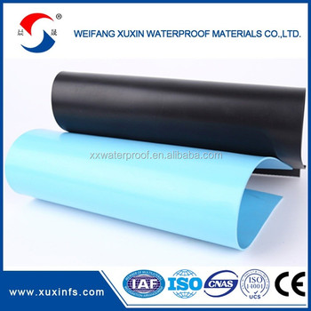 POLYVINYL CHLORIDE(PVC) WATERPROOFING MEMBRANE smooth surface
