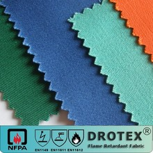 Fire Retardant Cloth Fabric / Fire Proof Fabric/ FR Textile Cotton FR Clothing fabric
