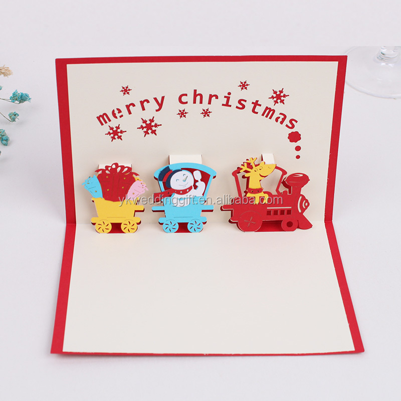 Wholesale 3d holiday greeting cards online buy best 3d holiday factory supplier decorative strong3dstrong christmas strongcards m4hsunfo