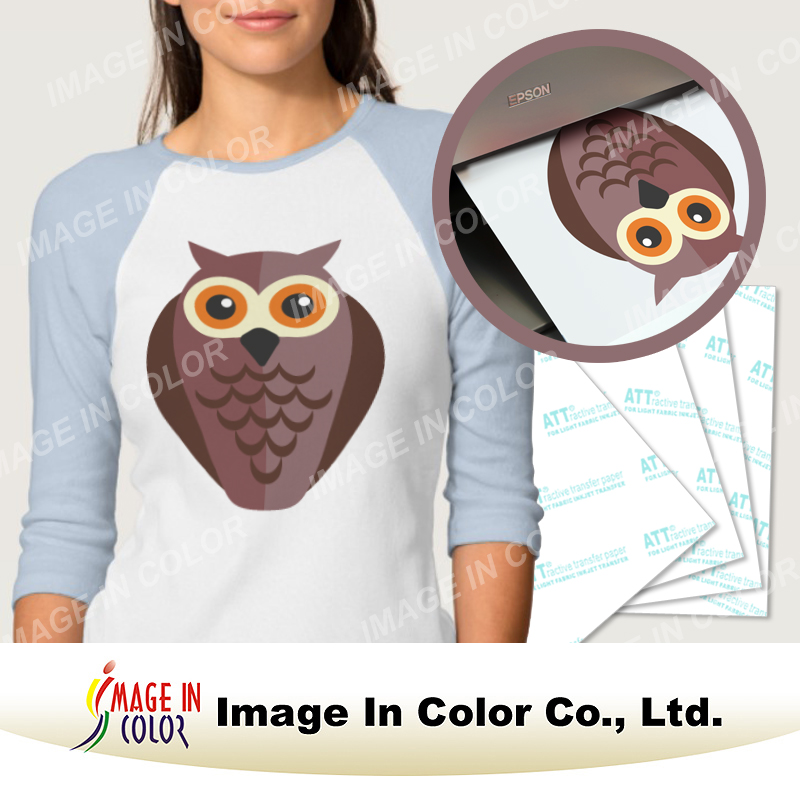 Light heat transfer tshirt sheet
