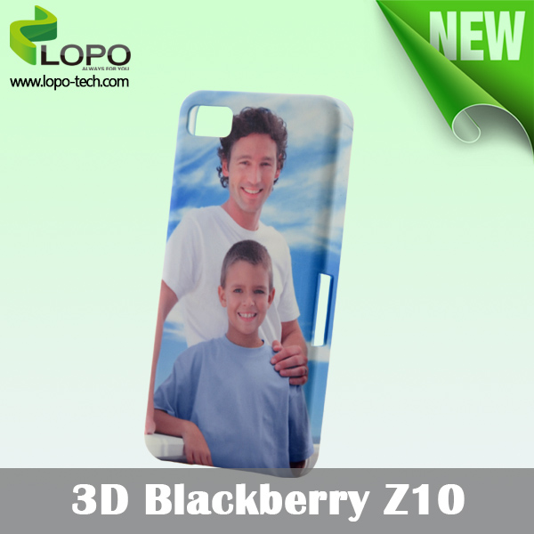 Heat Transfer sublimation 3D phone case for Blackberry Z10