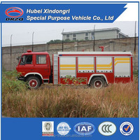 4*2 dongfeng fire fighting aerial ladder trucks, fire fighting truck for sale