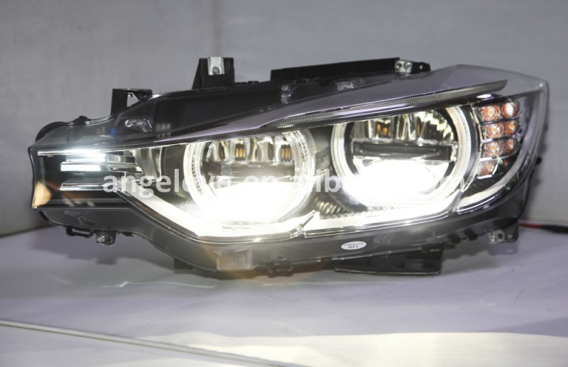 2013-2015 Year For BMW F30 F35 318 320 325 328 330 335 LED head lamp Angel Eyes Headlight SY
