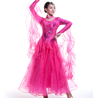 2017 Colorful Ballroom Dancing Dresses China For Women Waltz / Tango / Foxtrot / Quickstep For Sale