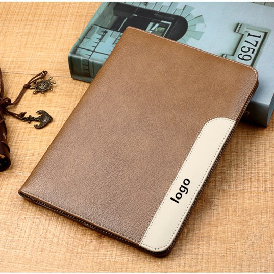 Stocks 360 Degree Protect Leather Case For iPad air2 Handheld PU Smart Case For iPad 6