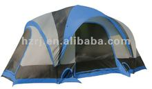 Three parts double layer camping tent