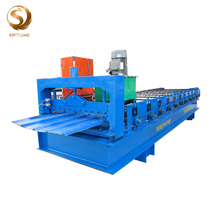 Colorful Plate Molding Ibr High Rib Roof Steel Metal Sheet Roll Forming Machine