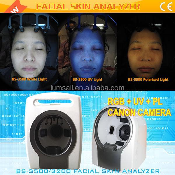 Hottest facial scanner magic mirror portable bio digital 3D Face analyzer