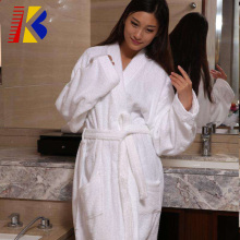 Women's Robe 100% Cotton Terry Kimono Bathrobe