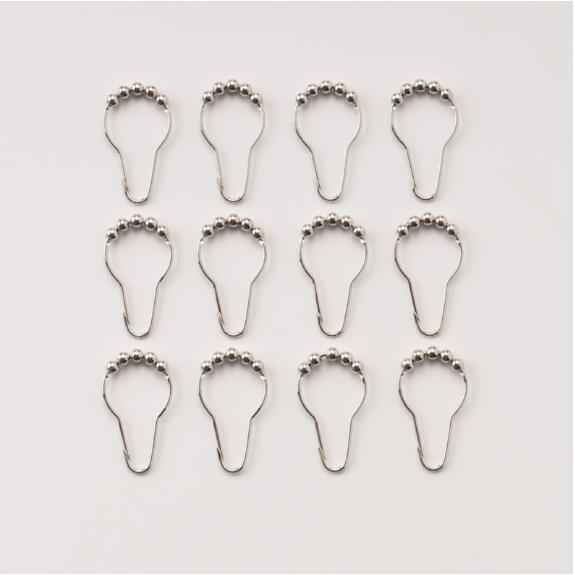 T0c1g metal ring shower curtain hook for sale