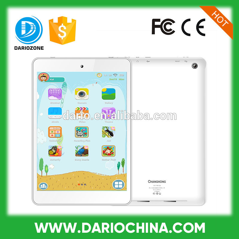 cheap china tablet pc 7.85inch mini kids learning tablets